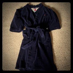 Tommy Hilfiger mens plush robe.
